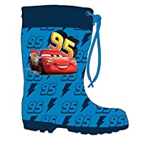 Disney Cars Boys Wellington Boots Rubber Wellies