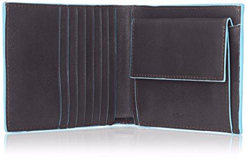 Piquadro Münzbörse, Nero (schwarz) - PU1239B2/N Mogano