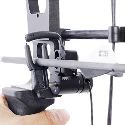 YUSDP Pro Series Drop Away Pfeilauflage - Hochwertige Aluminiumlegierung Material - Angetriebener Stabilisator, Hochgeschwindigkeitslandeeinrichtung - Compoundbogen Metall Rechtshänder -
