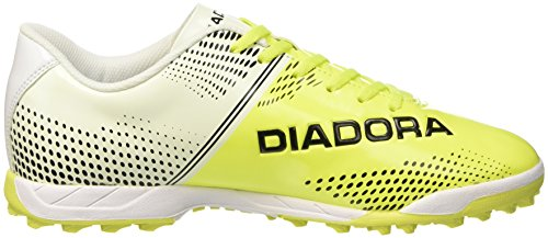 Diadora 830 Iii Tf, Chaussures de Football Homme Bianco (Bianco/Giallo Fluo Diadora /Ne)