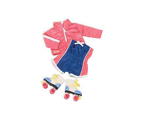 Preisvergleich Produktbild Our Generation BD60017Z - OG - Disco-Outfit mit Roller Skates