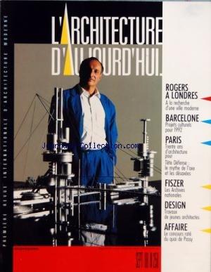 ARCHITECTURE D'AUJOURD'HUI (L&#3...