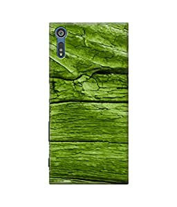 Be Awara Green Wood Designer Mobile Phone Case Back Cover For Sony Xperia XZ