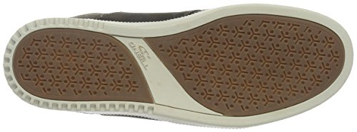 O'Neill Raybay LX Leather, Baskets Basses Homme Gris - Grau (antra A44)