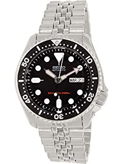 Seiko Men's Analogue Automatic Watch with Stainless Steel Bracelet - SKX007K2 (B000B5OD4I) | Amazon price tracker / tracking, Amazon price history charts, Amazon price watches, Amazon price drop alerts