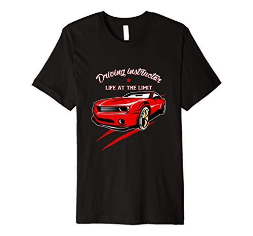 Fahrlehrer Fahrschule -Leben Am Limit- Herren Damen T-Shirt