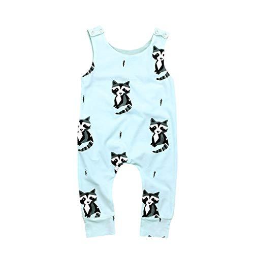 ers Baby Kids Sleeveless Braunbär Animal Print Overall Kleidung Niedlich Und Bequeme Freizeitkleidung ()