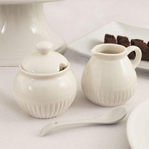 Creamer Set (FavorOnline Elegance Milchkännchen & Zuckerdose-Set von 1)