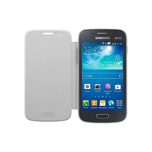 Samsung EF-FS727LWEG Etui à rabat pour Samsung Galaxy Ace 3 Blanc