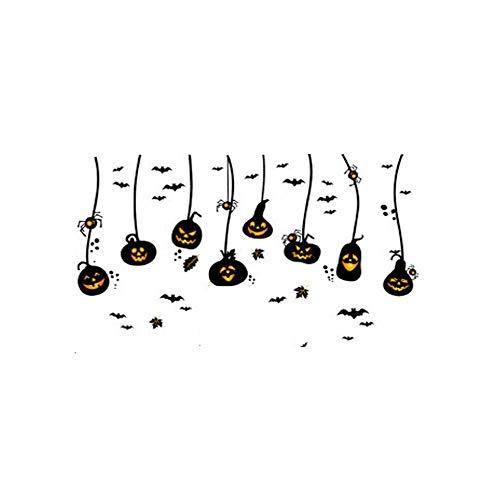 Sophie Marceau Halloween Kürbis Kronleuchter Wandaufkleber Urlaub  Dekorationen, Ungiftig Schimmelfestes Selbstklebendes Papier, Geeignet Für  Moderne ...