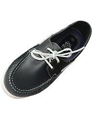 Beverly Originals Herren Leder Bootsschuh Men's Casual Sailor