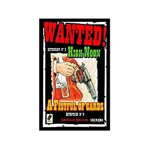 Tilsit - Jeu de carte - Wanted : Ext. A Fistful Of Cards + High Noon