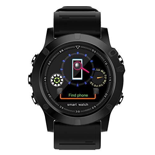 LRWEY Fitness Armband mit Pulsmesser, Smart Armbanduhr Sport Wasserdichte Herzfrequenz-Blutdruckmessgerät Für iOS Für Android