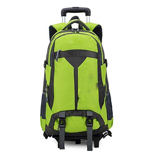 TUOZA Outdoor Bergsteigertasche Mit Großer Kapazität Stange Rucksack Green