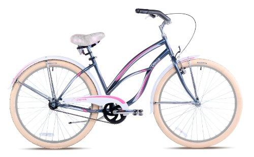 Capriolo Beachcruiser 26 Zoll /Cherry/, Ballonreifen, Rücktrittbremse, pink (Damen-fahrräder, Cruiser 26 Zoll)