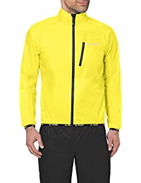 VAUDE Men's Drop Jackett III - Chaqueta color canary, talla XL