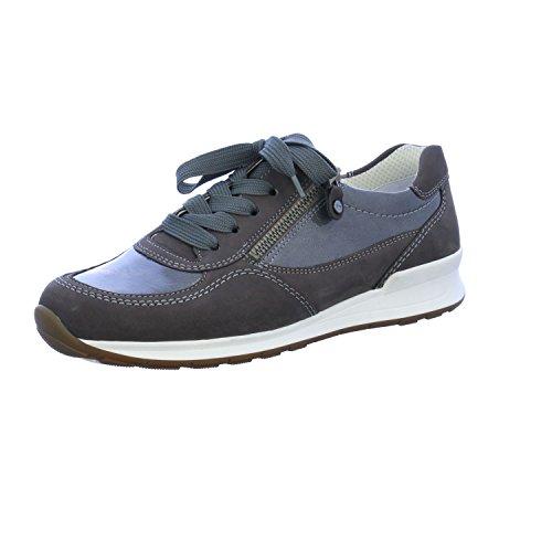 Ara Sneaker HELSINKI Größe 6, Farbe: grau Womens Tennis-schuhe Braun