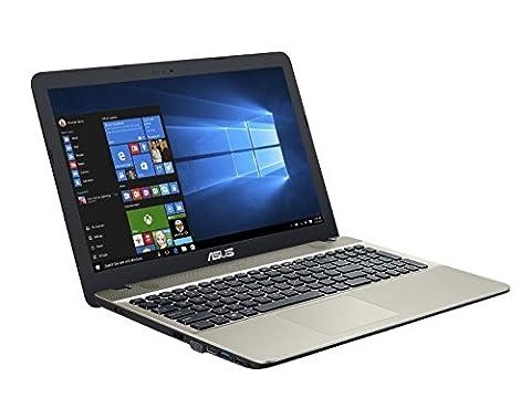 Asus F541UA-GQ933T 39,62 cm (15,6 Zoll) Notebook (Intel Core i3-6006U, 4 GB RAM, 1 TB HDD, Intel HD Graphic, Win 10 Home) (Asus Notebooks)