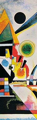 Wassily Kandinsky - Balancement, 1925, 1 Parte Poster Carta da Parati Fotomurale (250 x 79cm)