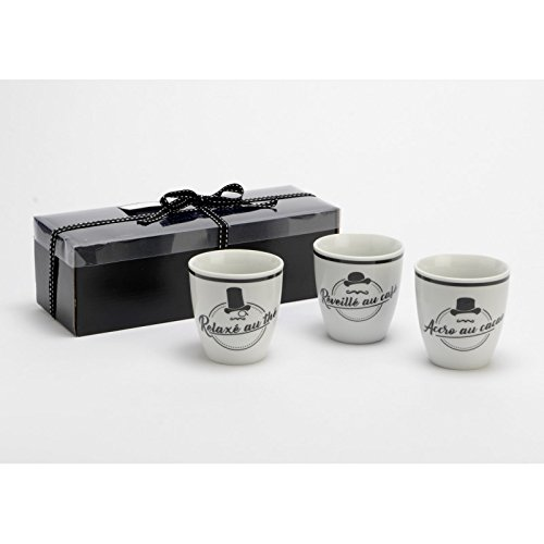 Coffret de 3 mugs Monsieur, Amadeus