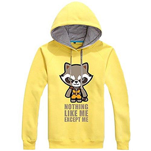 Cosplay Pullover Hoodie Erwachsene Unisex Baumwoll Druck Kapuzen Sweatshirt Kostüm Kleidung für (Cosplay Gamora Kostüm)