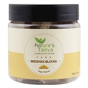 Nature's Tattva Pure Natural Beeswax, 100g
