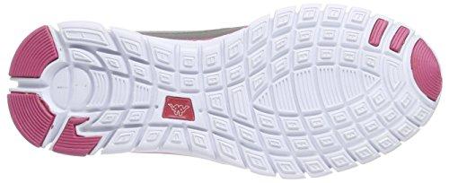Kappa - Sylvester Ii Footwear Unisex, Sneakers, unisex Grigio (Grau (1622 grey/pink))