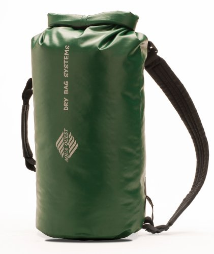 Aqua-Quest 100% Waterproof Backpack - 'Mariner' 10L - Green Model