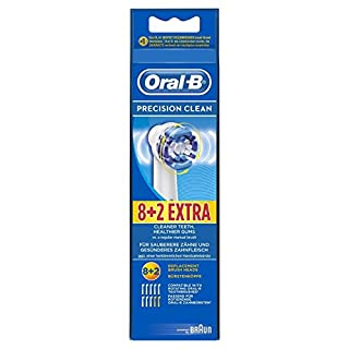 Oral-B Precision Clean 8+2 Brossette de Rechange (B003VWD560) | Amazon price tracker / tracking, Amazon price history charts, Amazon price watches, Amazon price drop alerts
