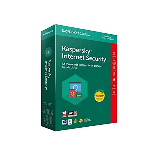 Kaspersky Lab Internet Security 2018 1utente(i) 1anno/i Full license ESP