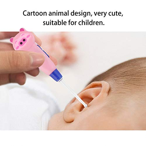 Unitedheart-Cartoon-Animal-Decoration-Plastica-Earpick-Portable-LED-Flashlight-Ear-Wax-Rimuovi-EarPick-Cleaner-Strumento-di-assistenza-sanitaria