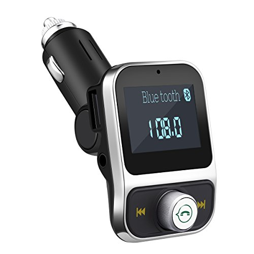 Criacr FM Transmitter, Bluetooth FM Transmitter, KFZ Auto Radio Adapter mit 2 USB Ladern & Mikrofon für Handy,iPhone, Samsung , Blackberry, iPad, HTC Usw Test