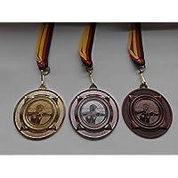 Bogenschießen Schützen Pokal Medaillen Deutschland-Band Turnier Emblem Schütze Pokale & Preise