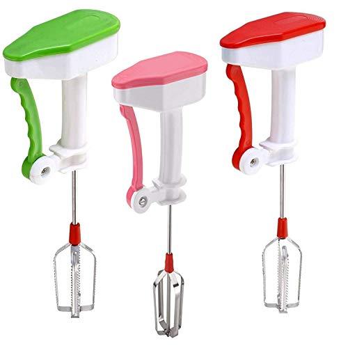 Smart_Lifestyle Plastic Powerless Hand Blender for Kitchen (Medium, Multicolour)