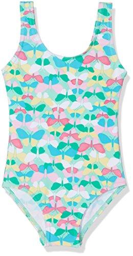 DIMO-TEX Sun Baby - Mädchen Einteiler Badeanzug Mädchen UV - Schutz 50+ 171078, Gr. 86, Mehrfarbig (alloverprint 997)