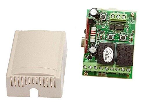 automatisch gesteuerts 2-flügeliges Tor, Trafo, 2 Kanal Steuerung + Wandfunkschalter