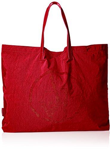 Armani Jeans922552CC861 - Borsa shopper Donna , Rosso (Rot (TANGO RED 17574)), 55x40x9 cm (B x H x T)