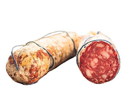 Salame toscano 500 gr - salumificio artigianale gombitelli - toscana