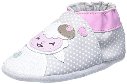 Robeez Baby Lamb, Naissance Bébé Fille, Gris (Gris Clair), 23/24 EU
