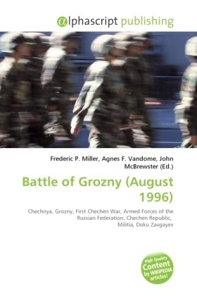 Battle of Grozny (August 1996)