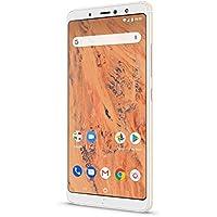"""BQ Aquaris X2 - Smartphone de 5.65"""" (Wi-Fi, 3 GB de RAM, Memoria Interna de 32 GB, Bluetooth 5.0, Dual cámara de 12 MP y 5 MP, Android 8.1.0 Oreo), Color Sand Oro"""