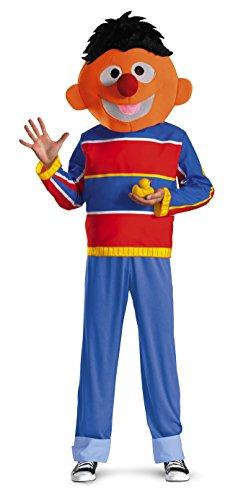 Für Kostüm Erwachsene Ernie - Disguise DI50068-XL Erwachsene Sesamstra-e Ernie Kost-m Gr--e X-Large