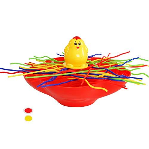 Ben-gi Balance Huhn Spiele Bunte-Stick Balance Spielzeug Eltern-Kind-Interaktives Spiel Lernspielzeug (Balance Huhn)