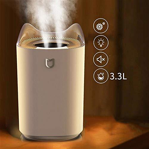 YUNDOM Humidificador De Dormitorio Humidificador De 3L De Gran Capacidad USB De Escritorio Hogar Creativo...