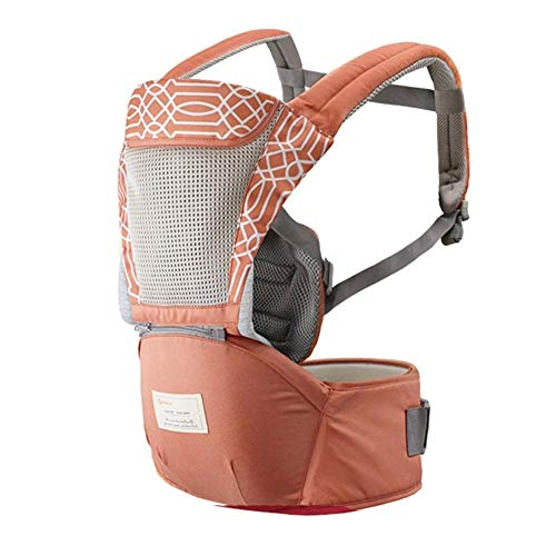 Babytrage Hüftsitz, Baby Hüfthocker Multifunktionsrucksack Hocker mit Schultergurt für Reisen im Freien