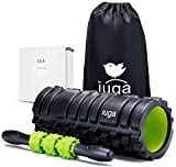 Best Foam Roller per i massaggi muscolari - Iuga, set 2 in 1 con rullo in Review