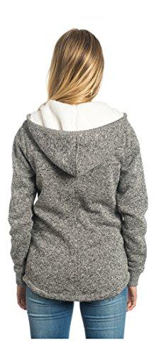 Rip Curl Active Heather Polar Fleece, Felpa Unisex-Adulto Frost Grey