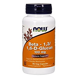 Now Foods BETA-1-3-1-6-GLUCAN, 90 Vcaps 100 mg