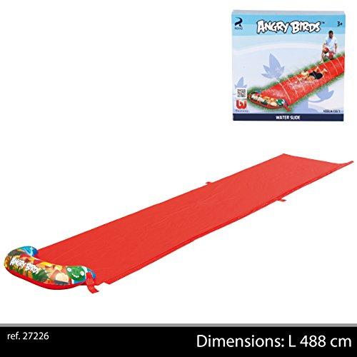 Bestway 96107B-02 - Wasserrutsche Angry Birds, 488 cm
