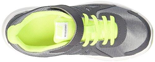 Nike Revolution 2 Psv, Chaussures de Sport Garçon Gris (Wolf Grey/Black-Dark Grey-Black)